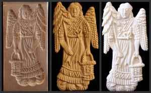Schreiber Angel w Tree Mold – Item #1541 - $38.95