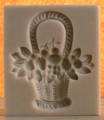 #1687 Werz Fruit and Flower Basket Mold - $25.30