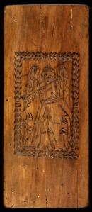 The Lieb family original wooden Angel Mold