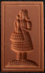 #1501 Hannover Girl with Doll Mold - $26.00