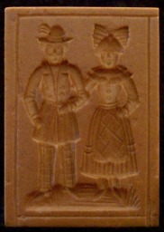 #1536 Bavarian Couple Mold - $23.95