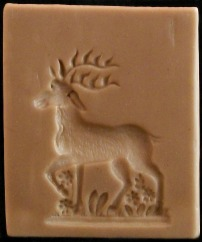#1587 Stag in Springtime Mold - $33.50