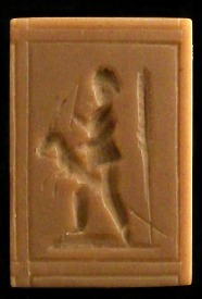 #1642 Boy Riding a Stick Horse Mold - $22.95