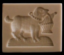 #1670 Magdeburg Dog Mold - $34.25