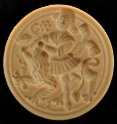 #1671 Samson and the Lion Mold - $33.45