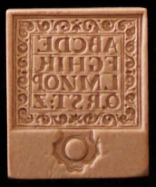 #1806 Small Hornbook Mold - $18.95