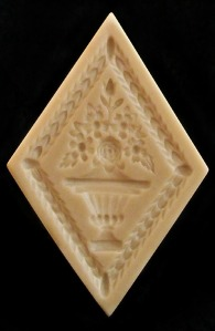 #1848 Walldorf Diamond Flower Mold - $27.95