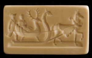 #1849 Walldorf Sleigh Scene Mold - $34.50